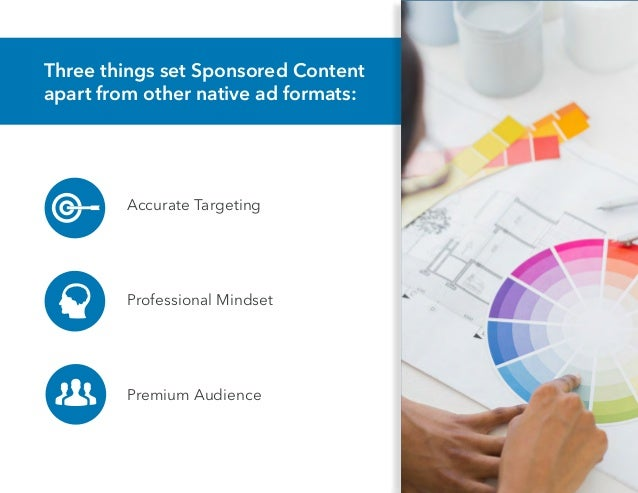 Color your LinkedIn Sponsored Content Strategy with Bright Insights Slide 3