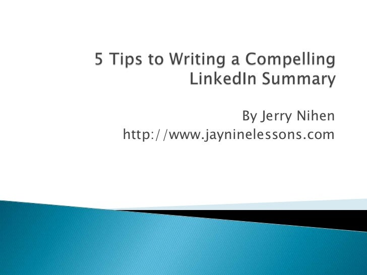 tips for writing a summary The resume summary statement serves as a critical overview of your background for the reader here are tips and examples to ensure your resume gets read.