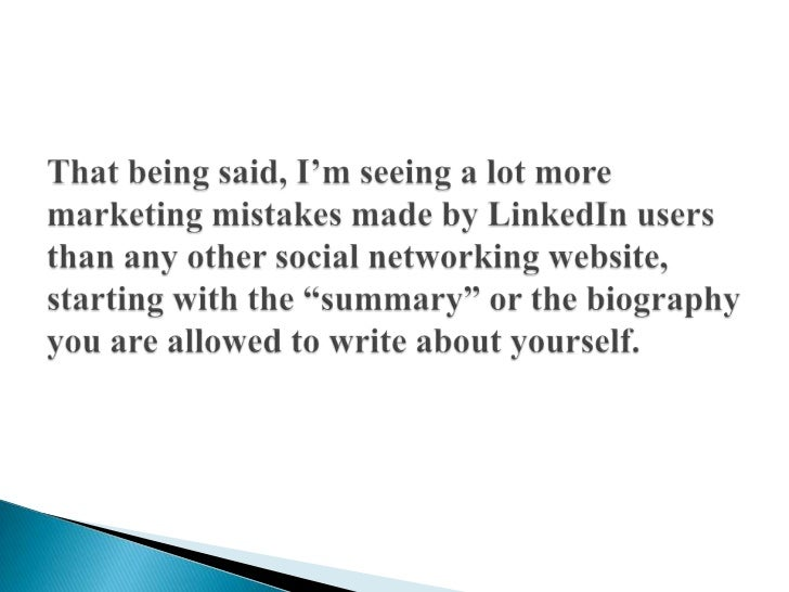 How to Write a Professional Bio for Twitter, LinkedIn, Facebook & Google+