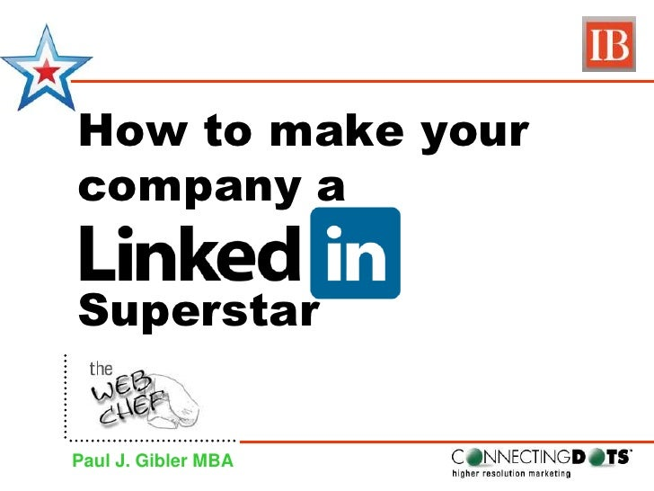 How to make your company a<br />Superstar<br />Paul J. Gibler MBA<br />