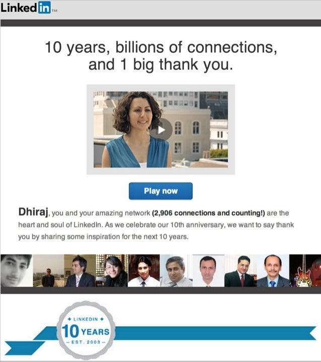 LinkedIn Thanks Giving