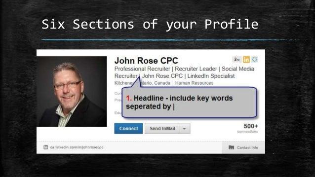 Linkedin Tips Presentation to Grand Valley HRPA PNGroup Slide 3