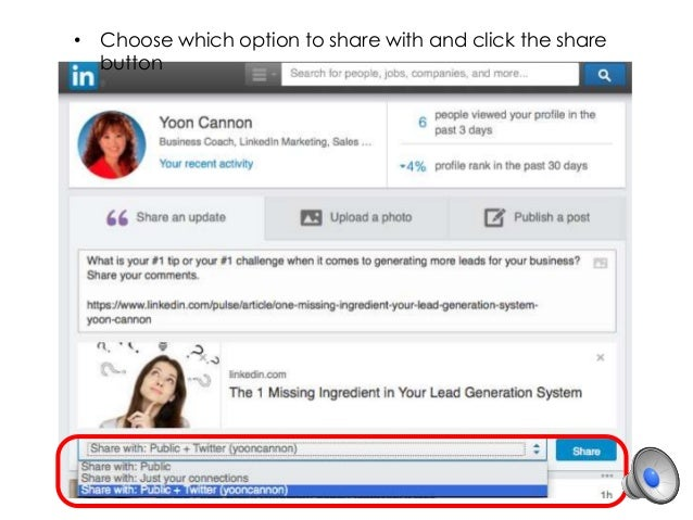 41d34020c816ec Linked in tips how to share your posts to multiple linkedin groups