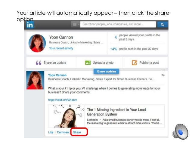 Upload An Article To Linkedin Many People Likewise