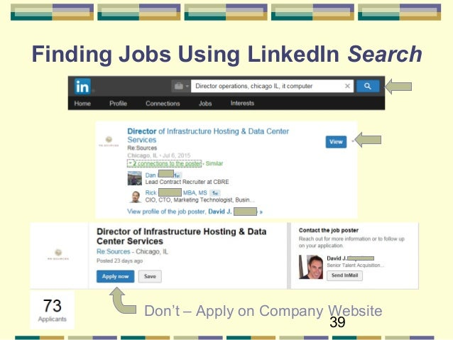 target companies 39 39 finding jobs using linkedin search - Linkedin Jobs Search Finding Jobs Using Linkedin