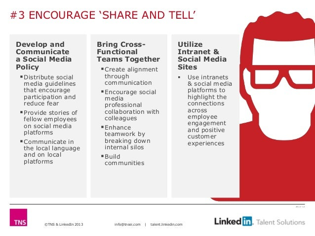 #3 ENCOURAGE 'SHARE AND TELL'Develop and                     Bring Cross-                             UtilizeCommunicate  ...