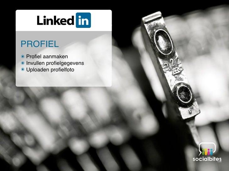 Linkedin Training November 2011 Slide 26