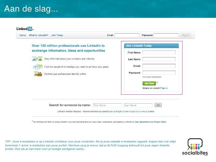 Linkedin Training November 2011 Slide 27
