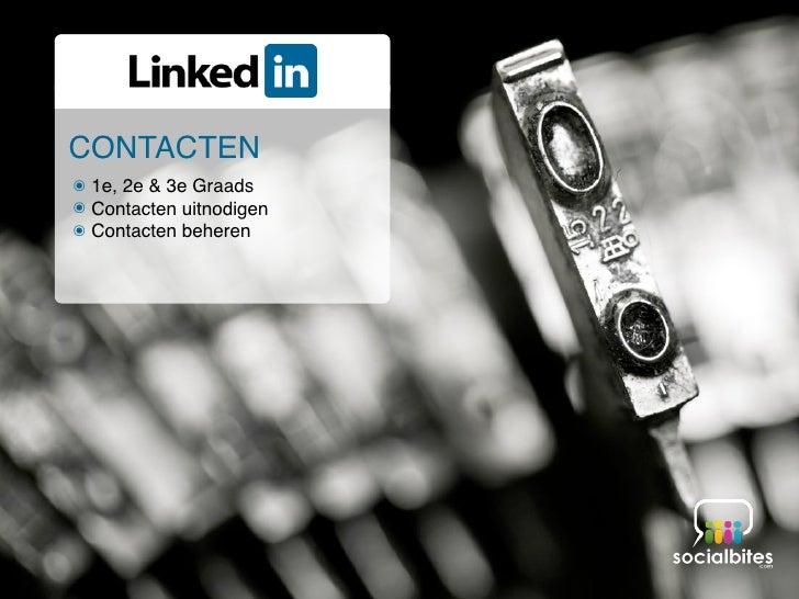 Linkedin Training November 2011 Slide 31