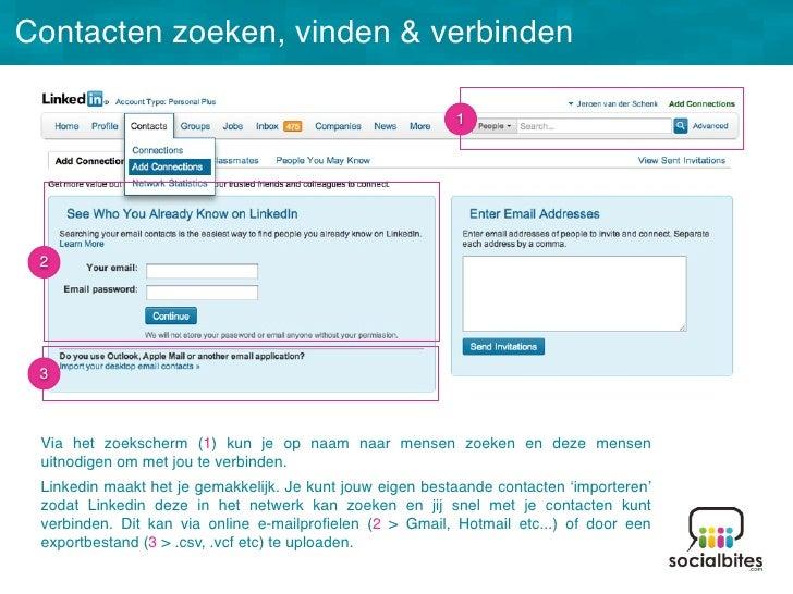Linkedin Training November 2011 Slide 33