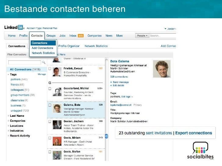 Linkedin Training November 2011 Slide 34