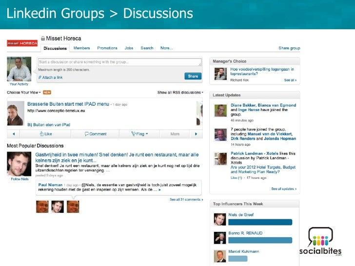 Linkedin Training November 2011 Slide 38