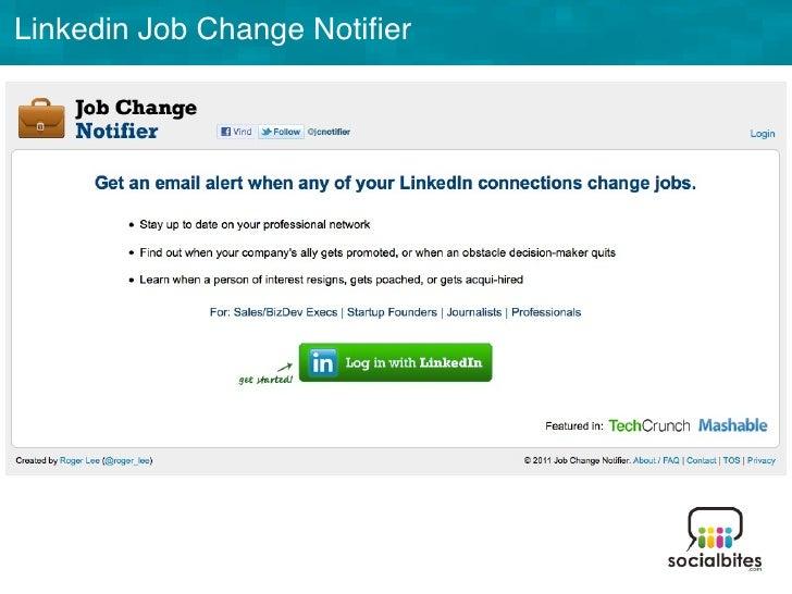 Linkedin Training November 2011 Slide 42