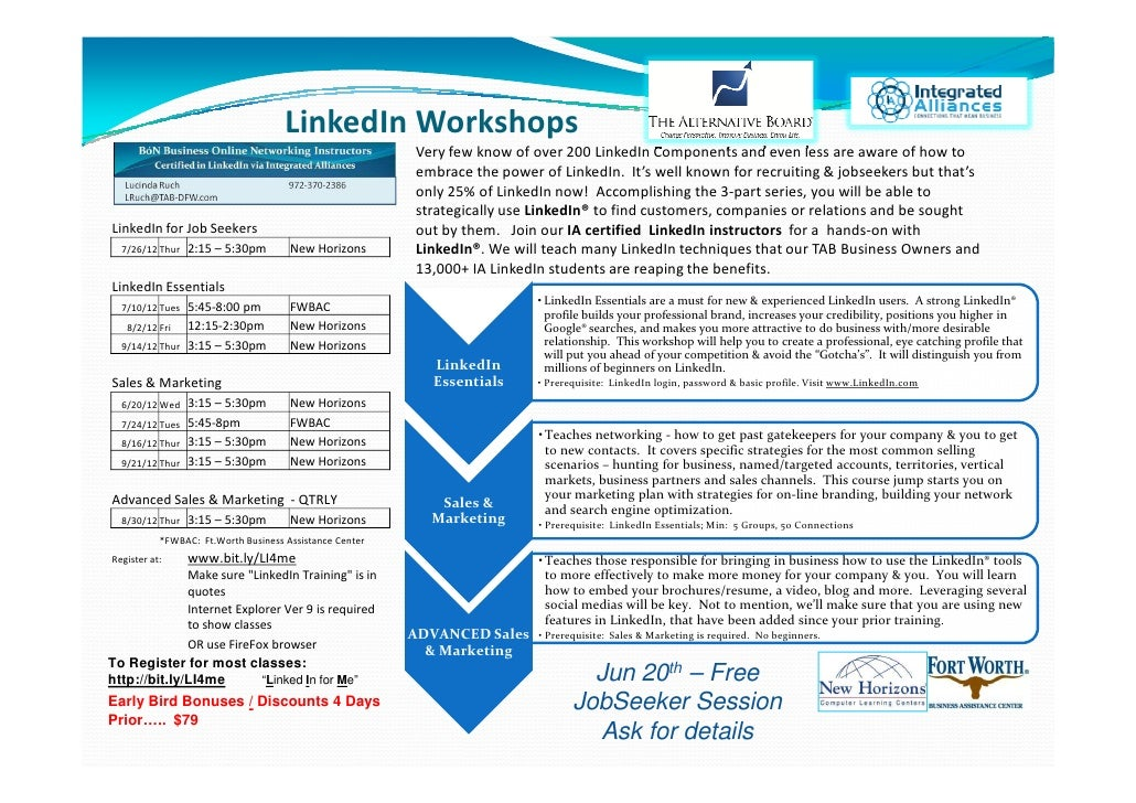 LinkedIn Workshops                                                         Very few know of over 200 LinkedIn Components a...