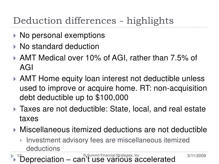 Incentive stock options amt credit