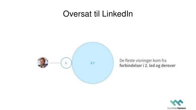 Oversat til LinkedIn