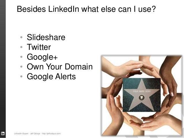 SALES SOLUTIONS Besides LinkedIn what else can I use? • Slideshare • Twitter • Google+ • Own Your Domain • Google Alerts L...