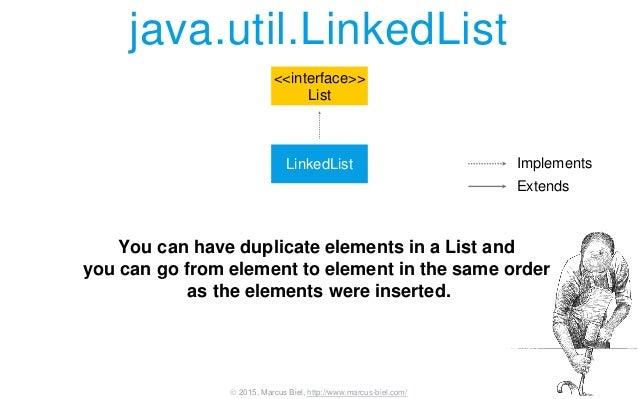 how to make an array of linked lists java