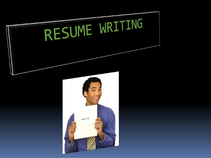 RESUME WRITING<br />