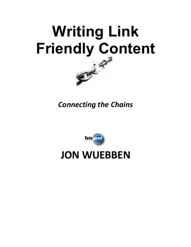 Writing Link Friendly Content 