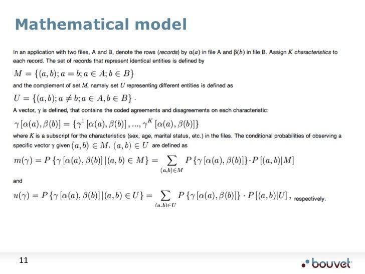 Mathematical model<br />