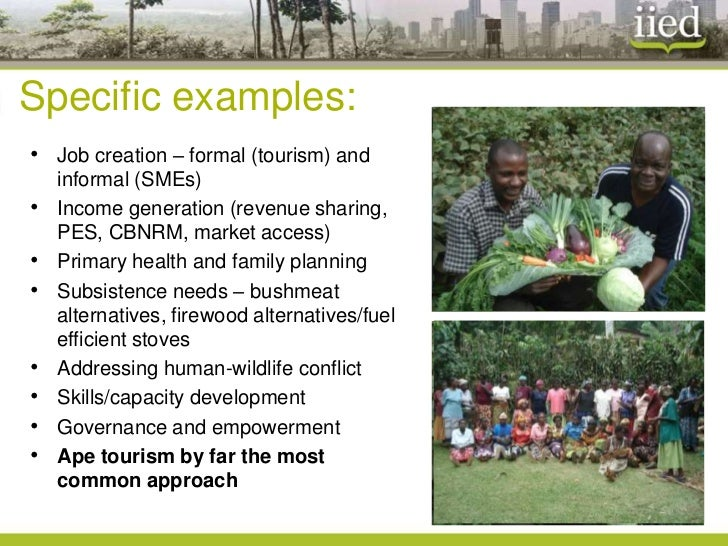 Community Based Natural Resource Management Examples