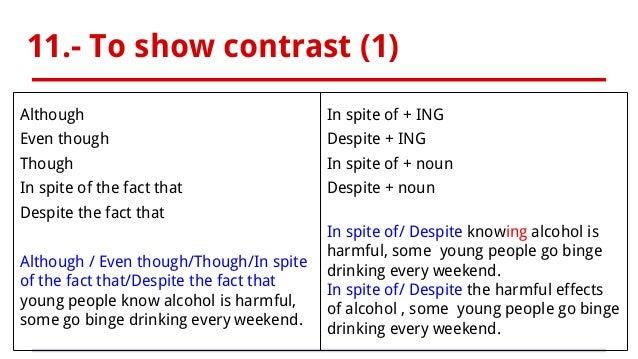 English essay linking phrases
