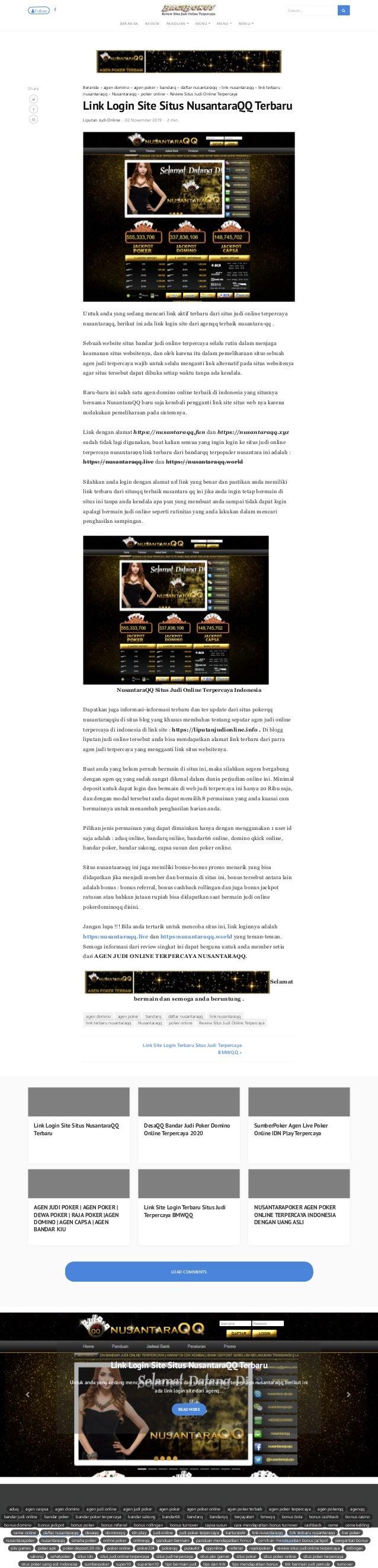 Link Login Site Situs Nusantara Qq Terbaru