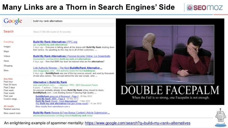Many Links are a Thorn in Search Engines' SideAn enlightening example of spammer mentality: https://www.google.com/search?...