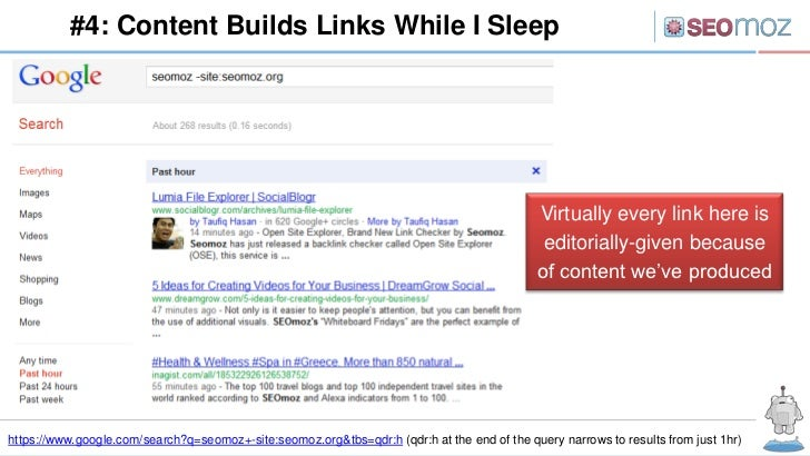 #4: Content Builds Links While I Sleep                                                                                    ...