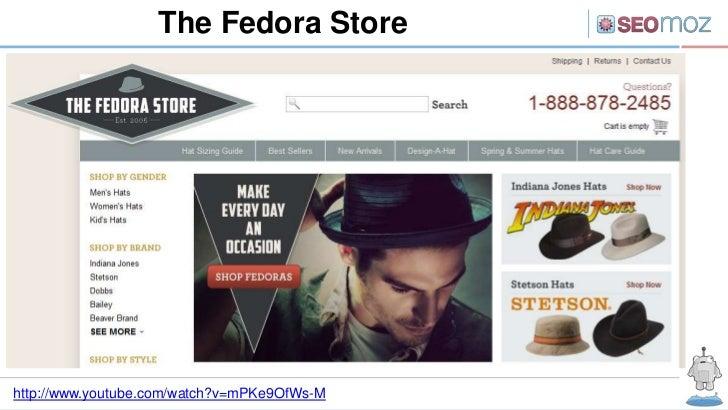 The Fedora Storehttp://www.youtube.com/watch?v=mPKe9OfWs-M