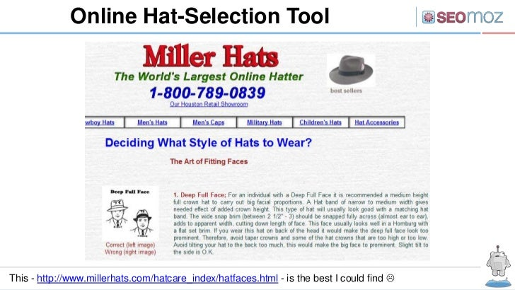 Online Hat-Selection ToolThis - http://www.millerhats.com/hatcare_index/hatfaces.html - is the best I could find 