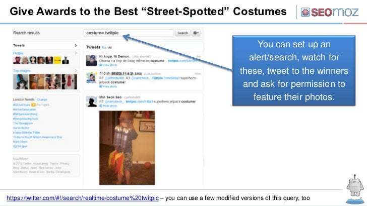 """Give Awards to the Best """"Street-Spotted"""" Costumes                                                                         ..."""