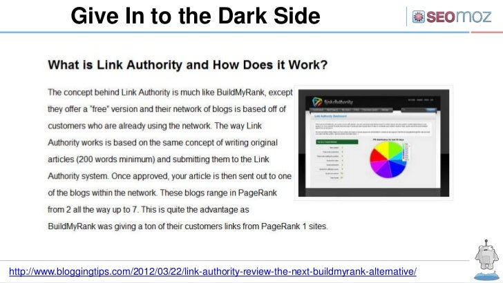 Give In to the Dark Sidehttp://www.bloggingtips.com/2012/03/22/link-authority-review-the-next-buildmyrank-alternative/