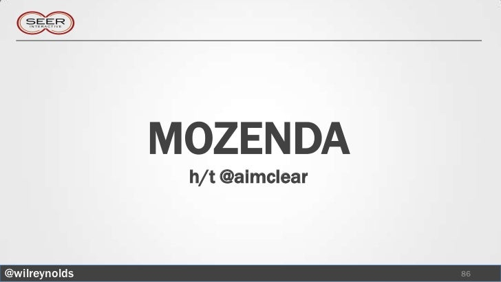 MOZENDA                h/t @aimclear@wilreynolds                    86
