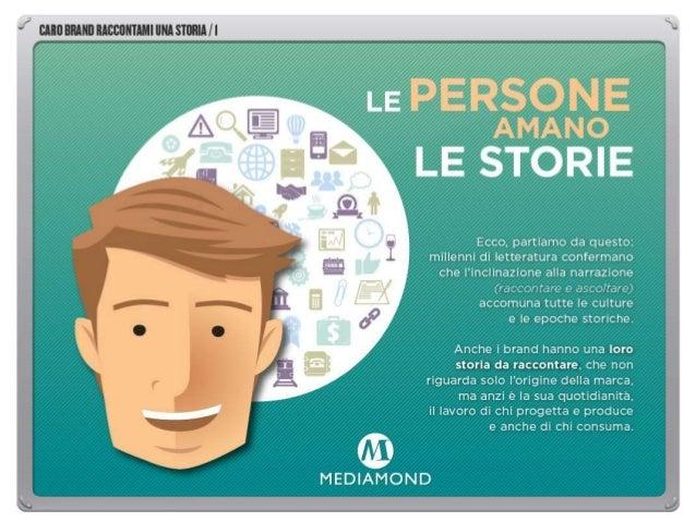 CARO BRAND RACCONTAMI UNA STORIA sono alcuni spunti per una riflessione sul brand storytelling, come contributo proposto a...