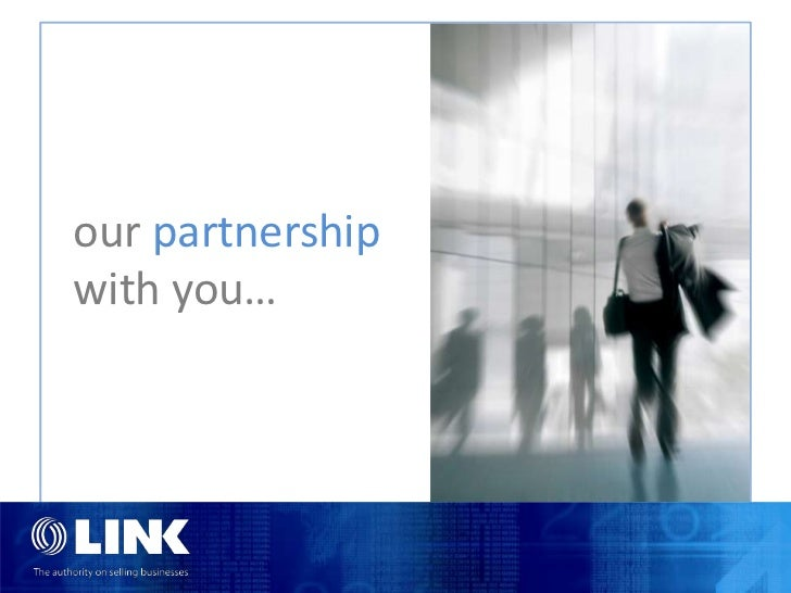 our partnershipwith you…
