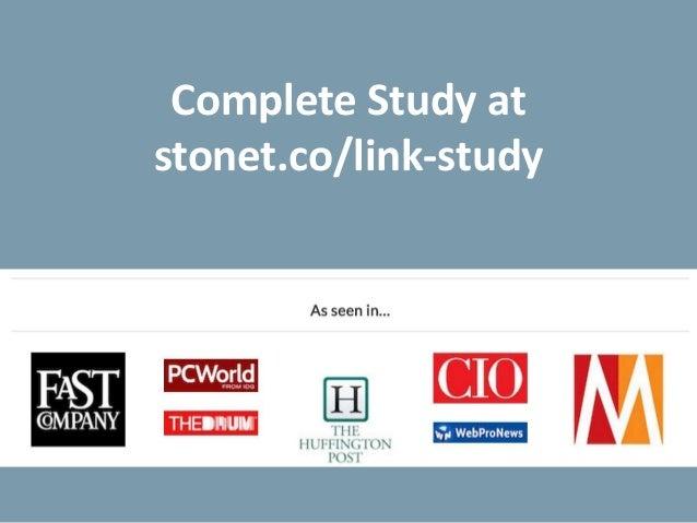 Links As SEO Ranking Factor: Still Very Powerful! Slide 2