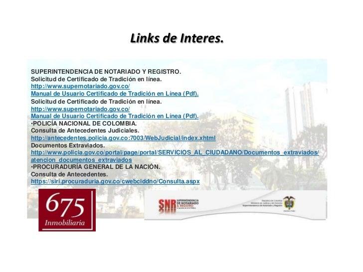 Links de interes www.mls.inmo.co Slide 3