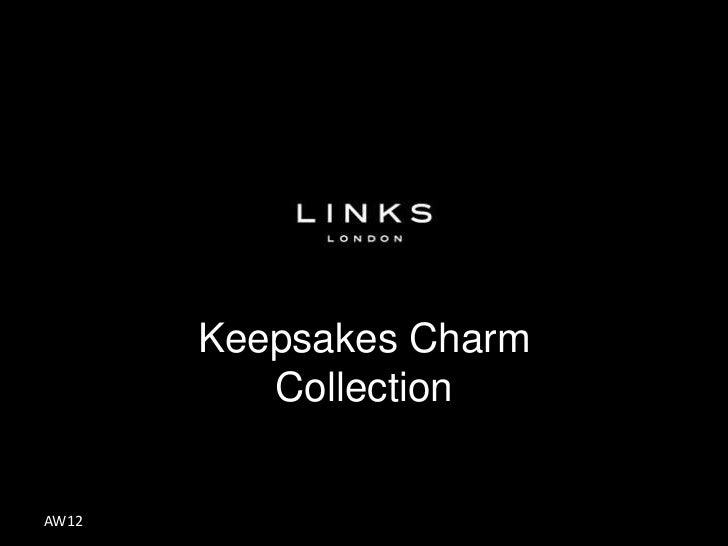 Keepsakes Charm          CollectionAW12