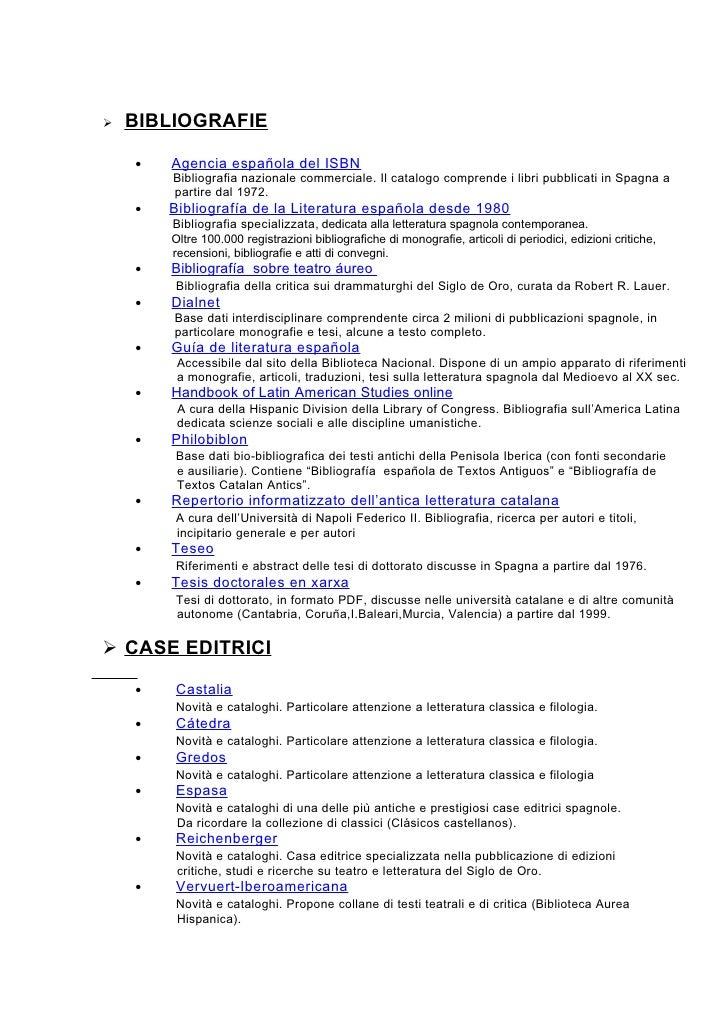 BIBLIOGRAFIE            Agencia española del ISBN     •         Bibliografia nazionale commerciale. Il catalogo comprende...