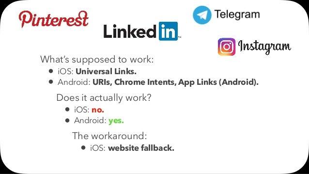 Mobile Deep Link Standards