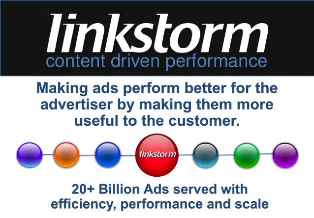 content driven performance