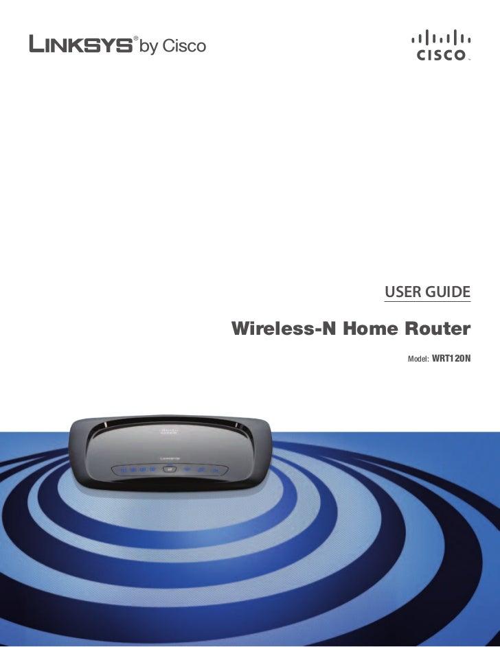 linksys wrt120 n rh slideshare net linksys wireless n router manual Linksys E1200 Wireless-N Router
