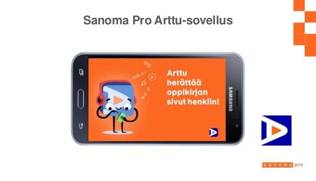 Sanoma Pro Arttu-sovellus