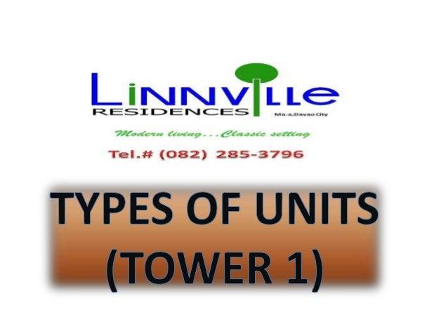 Linnville unit types