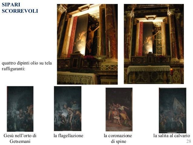quattro dipinti olio su tela  raffiguranti:  Gesù nell'orto di  Getsemani  la flagellazione la coronazione  di spine  la s...