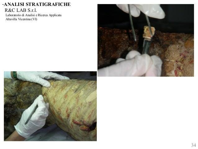-ANALISI STRATIGRAFICHE  R&C LAB S.r.l.  Laboratorio di Analisi e Ricerca Applicata  Altavilla Vicentina (VI)  34