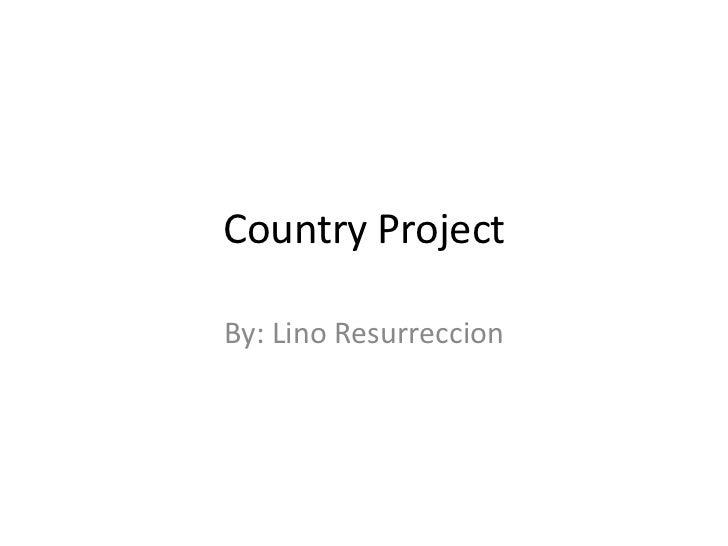 Lino history project