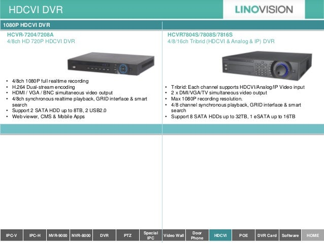 Linovision catalog version 2014 aug